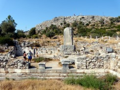 Xanthos ruins dating back to the 8th centry