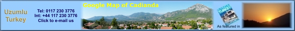 Google Map of Cadianda